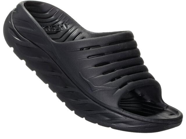 Hoka One One Ora Recovery Slide 2 Dames, black/black